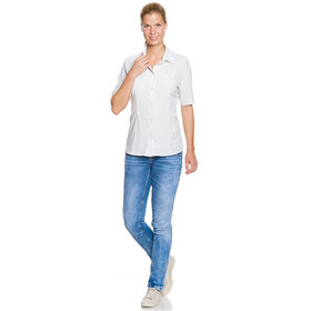 Tatonka Jonne Camisa Manga Corta Mujer, light grey